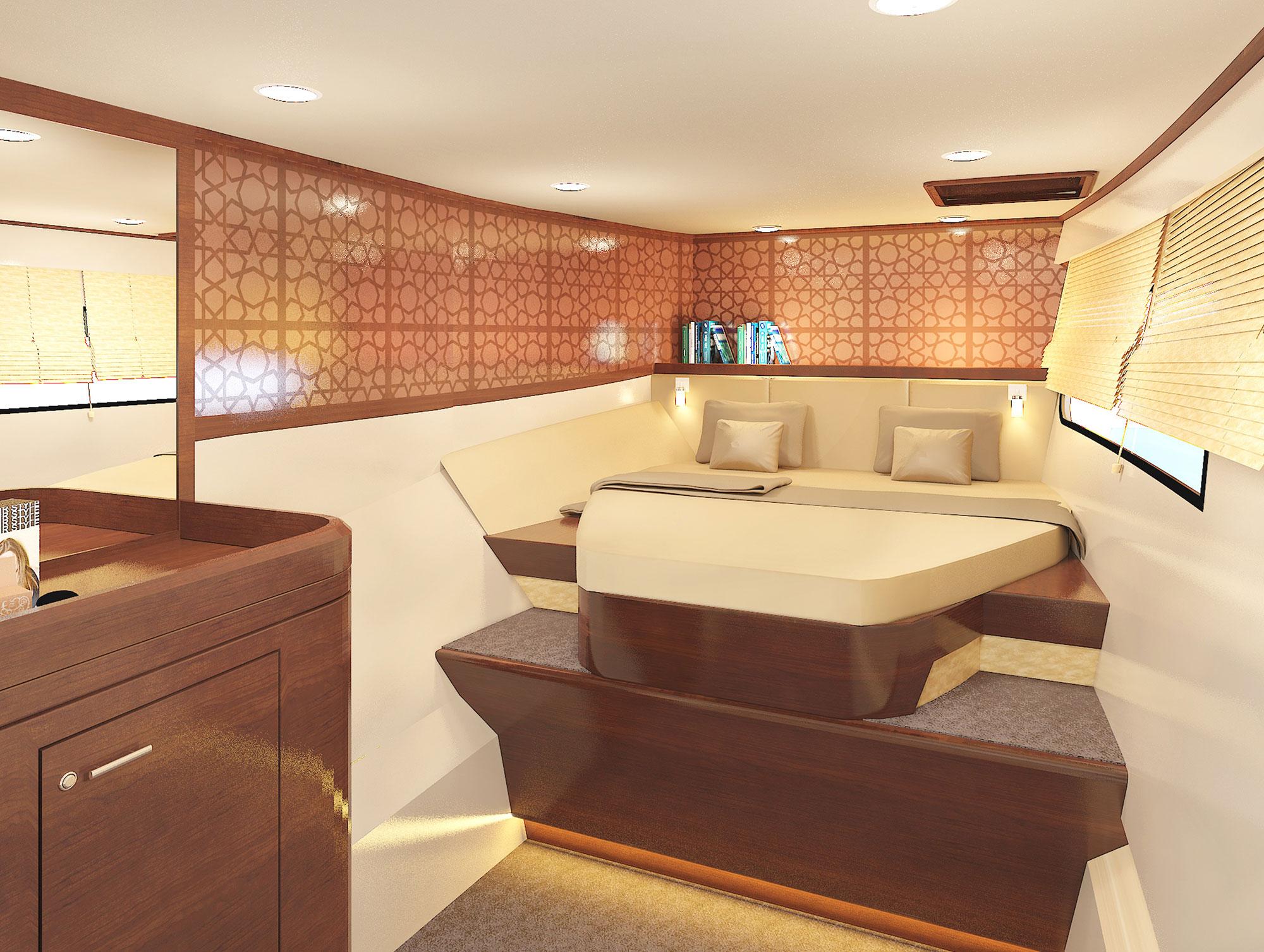 Heliotrope 70 interior