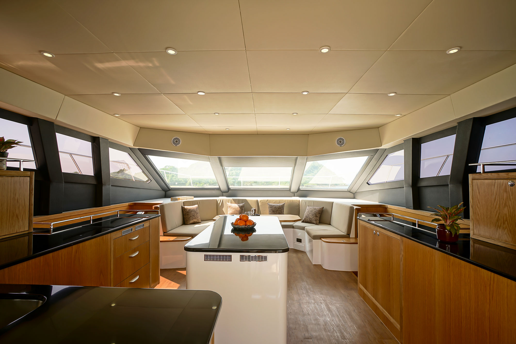 h48 saloon and galley