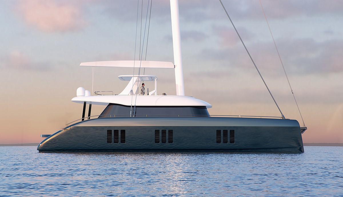 render sunreef 70 sailing