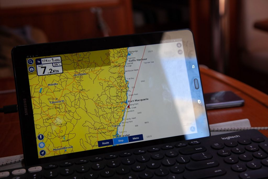 ipad navigation for sailing