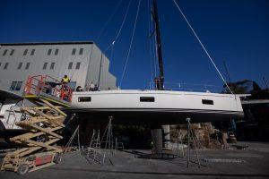 swan 48 keel and mast