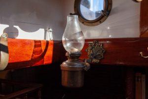 classic boat interior detail