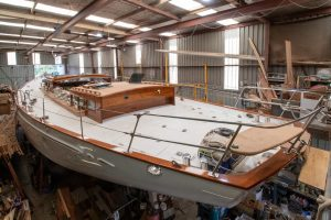 modern classic yacht tanielle